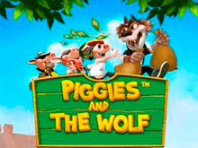 Piggies And The Wolf на веб-сайте Слотозал